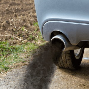 זיהום אוויר ברכב